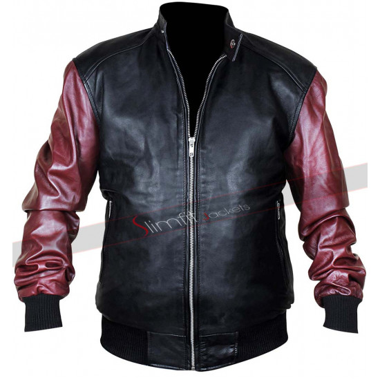 Justice League The Flash Hoodie Leather Jacket