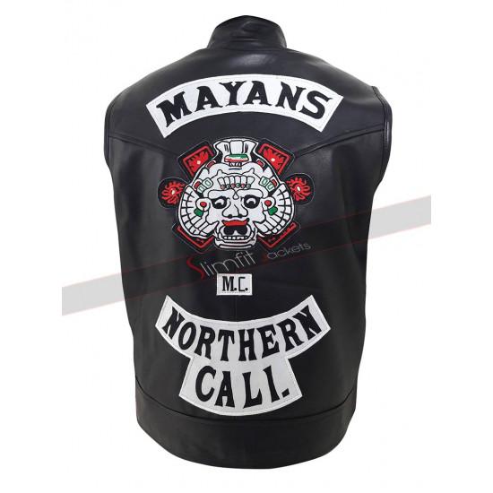 Mayans M.C. JD Pardo Northern Cali Vest