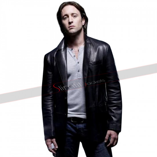 Alex O'loughlin Moonlight Leather Jacket