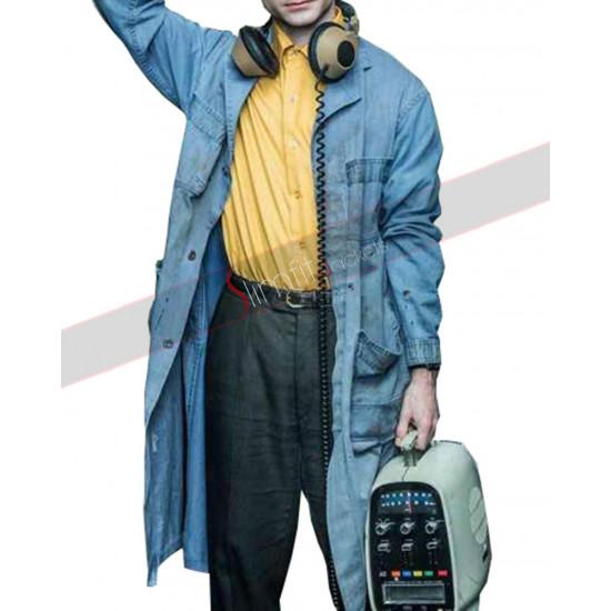 Miracle Workers Daniel Radcliffe Denim Coat