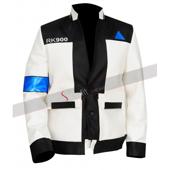 Detroit Become Human RK900 Connor White Jacket