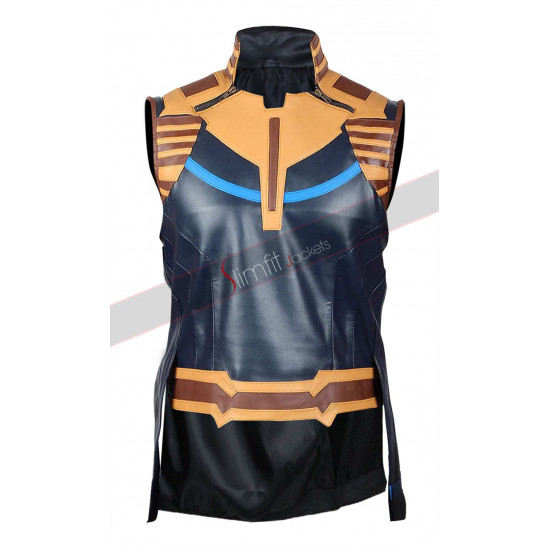 Avengers Infinity War Josh Brolin Thanos Leather Vest