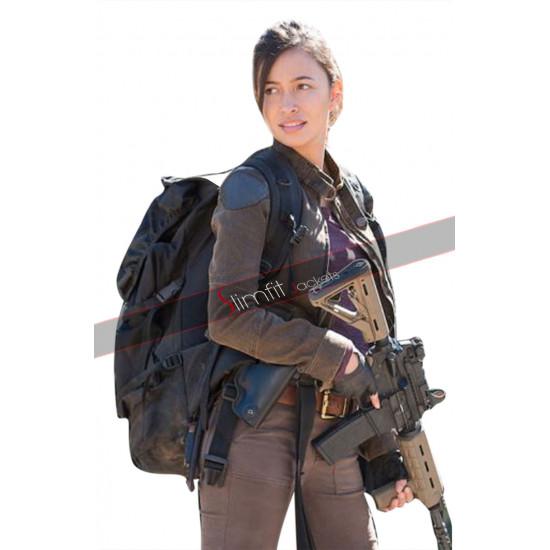Walking Dead Rosita Espinosa Cotton Jacket