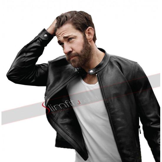 John Krasinski Tom Clancy's Jack Ryan Leather Jacket