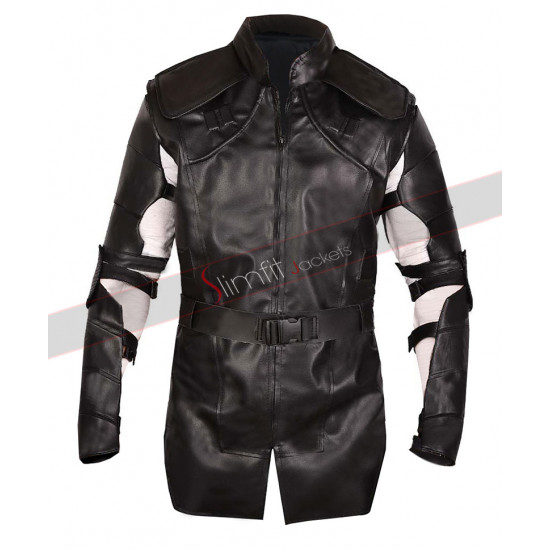 Avengers Endgame Hawk-Eye Clint Barton Leather Costume Jacket