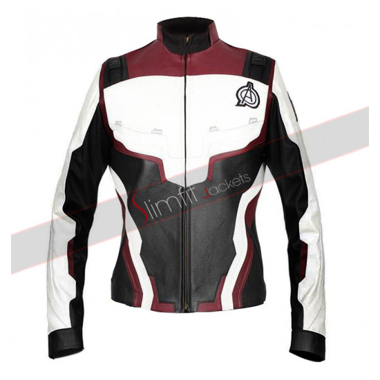 Avengers Endgame Quantum Realm Women Leather Jacket
