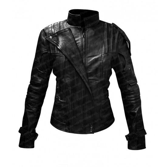 Guardians Of The Galaxy Vol 2 Star Lord Womens Costume Leather Jacket