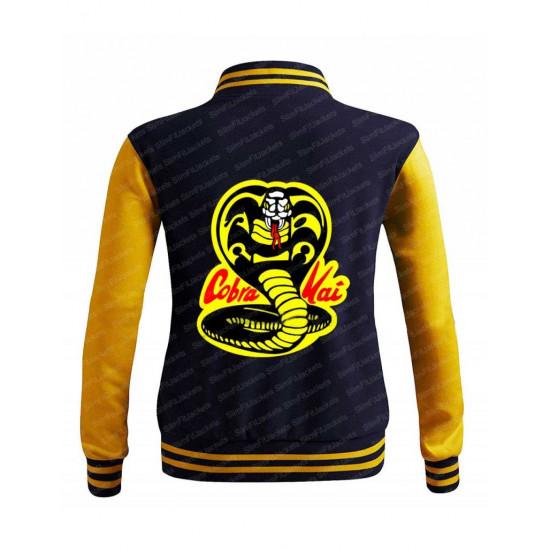 Cobra Kai Moletom Karate Kid Varsity Jacket