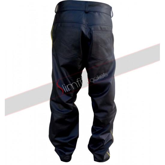 Will Smith Hancock Costume Leather Pants