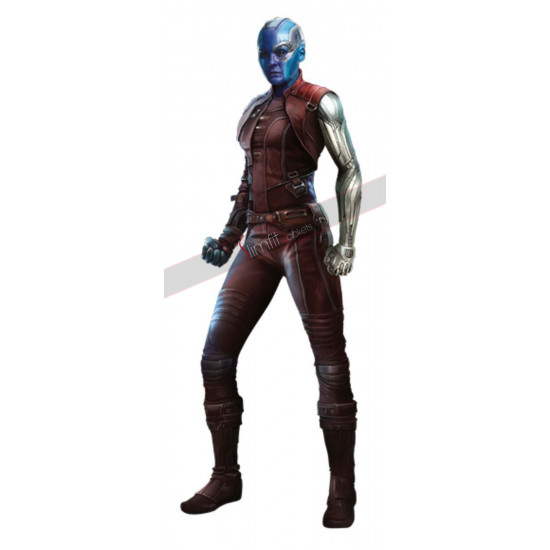 Nebula Avengers Infinity War Karen Gillan Leather Costume