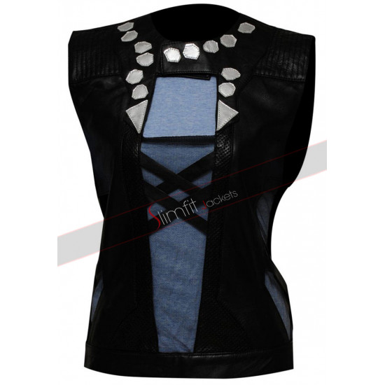 Zoe Saldana Guardians Of The Galaxy Gamora Costume