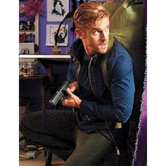 The Guest Dan Stevens (David Collins) Leather Jacket