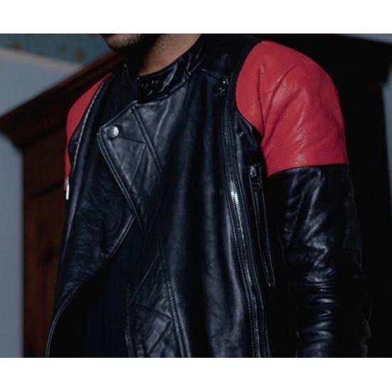 Kid Cudi Surface to Air Conan O'brien Leather Jacket