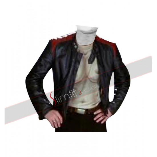 Scary Movie Jon Abraham (Bobby Prinze) Leather Jacket