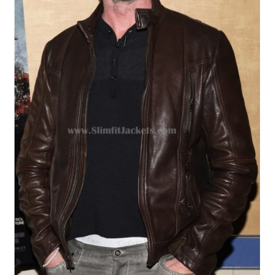 Olympus Has Fallen Mb.Gerard Butler Leather Jacket