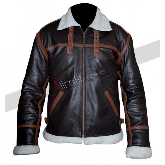 Resident Evil 4 Leon Kennedy Replica Bomber Costume Jacket