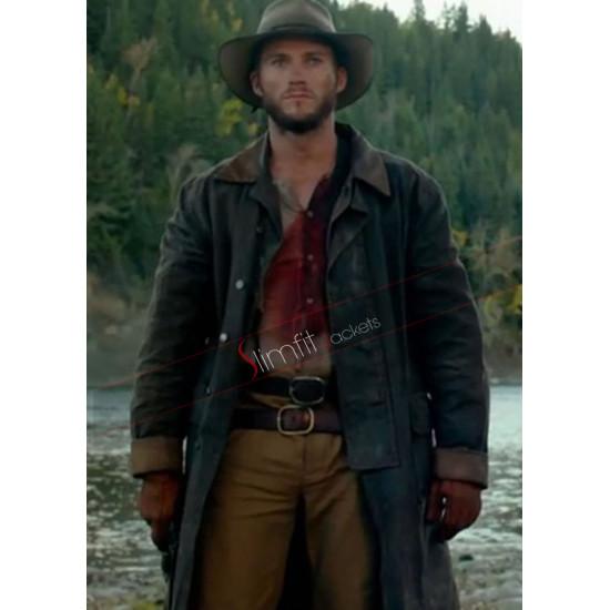 Scott Eastwood Diablo Jackson Long Trench Coat