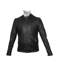17 Again Zac Efron (Oblow) Black Leather Jacket