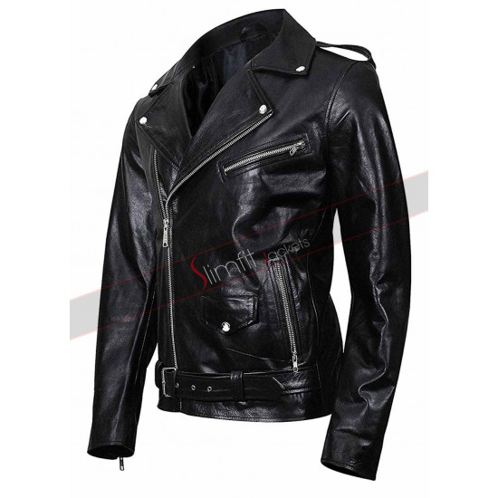 Riverdale Southside Serpent Black Leather Jacket