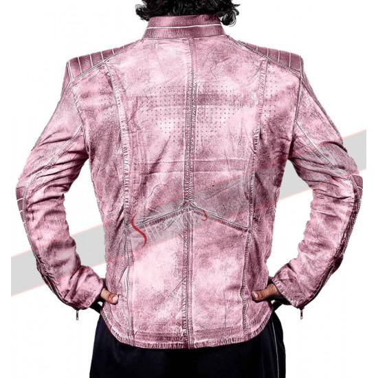 Blue Superman Denim Style Leather Jacket