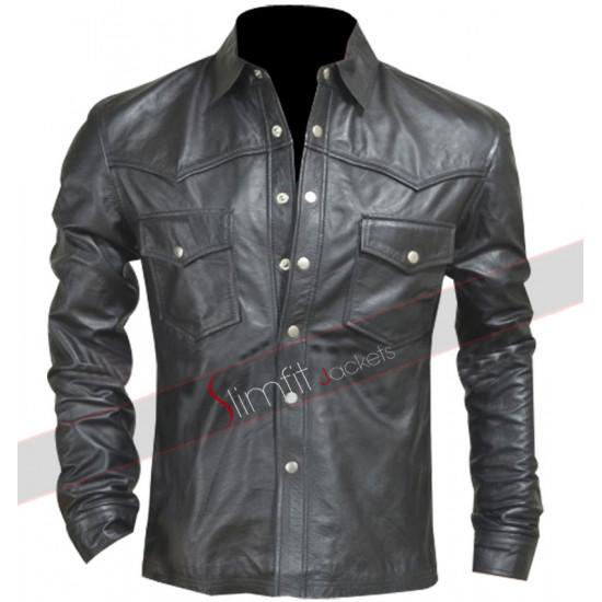 The Walking Dead Season 4 Governor (David Morrissey) Leather Jacket