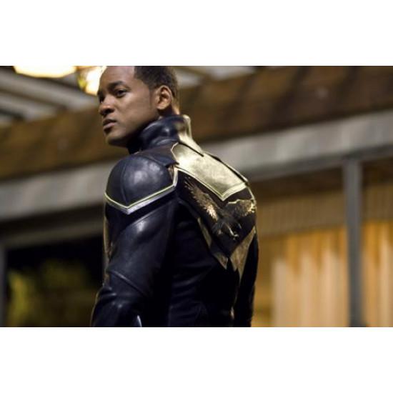 Replica Hancock Will Smith Leather Jacket Costume Sale