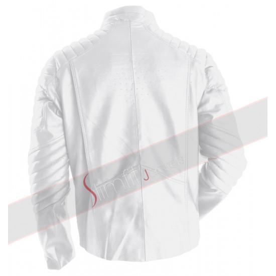 New Superman Smallville White Jacket