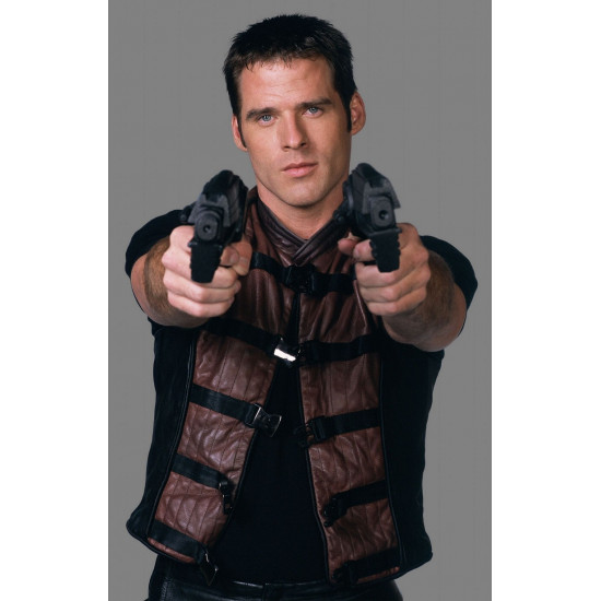 Replica Farscape John Crichton Leather Vest