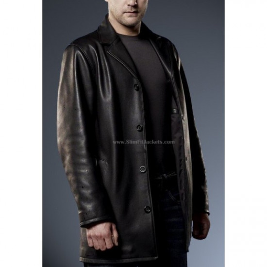 Fringe Joshua Jackson (Peter Bishop) Black Coat/Jacket