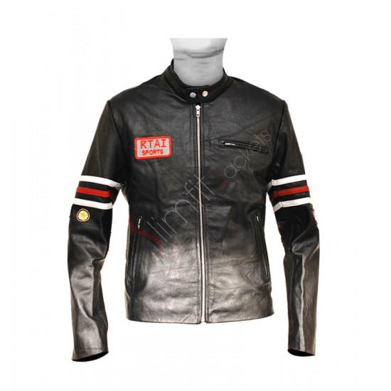 House M.D: Hugh Laurie (Dr. Gregory House) Biker Jacket
