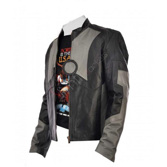 Ironman 2 Tony Stark Leather Jacket