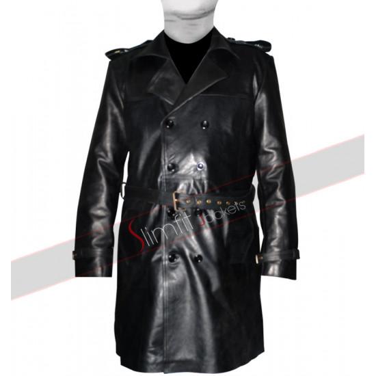 Sweeney Todd Johnny Depp Long Leather Coat/Jacket