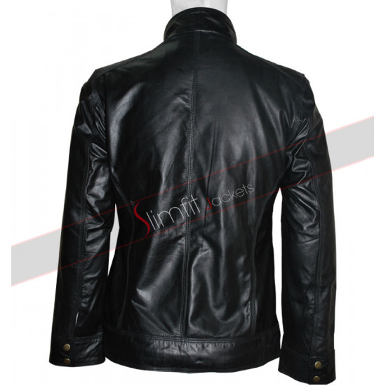 Welcome To The Punch: Ml.James McAvoy Leather Jacket