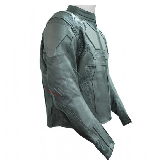 Replica Tom Cruise Oblivion White Motorcycle Costume Jacket