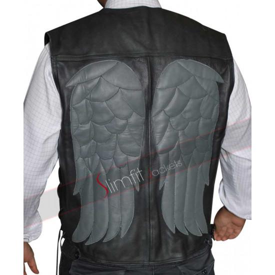 Walking Dead Daryl (Darryl) Dixon Leather Vest Sale