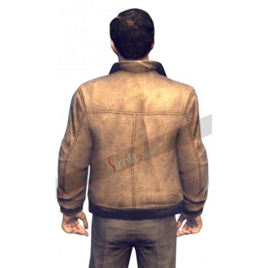 Mafia II (Game) Vito Scaletta Bomber Leather jacket