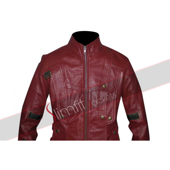 Women Starlord Peter Quill Style Guardians of the Galaxy Jacket