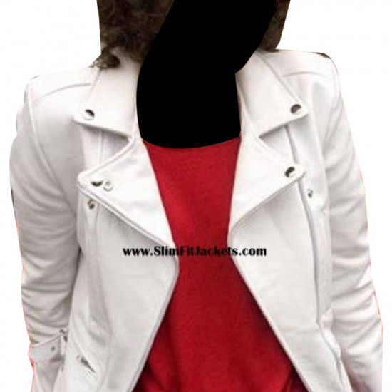 Ashes to Ashes: Keeley (Alex Drake) Hawes Biker Leather Jacket
