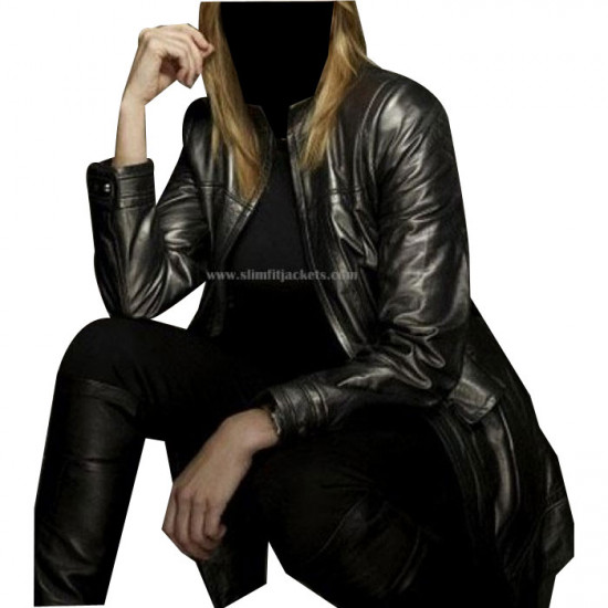 Battlestar Galactica: Lucy (D'Anna Biers) Lawless Leather Jacket