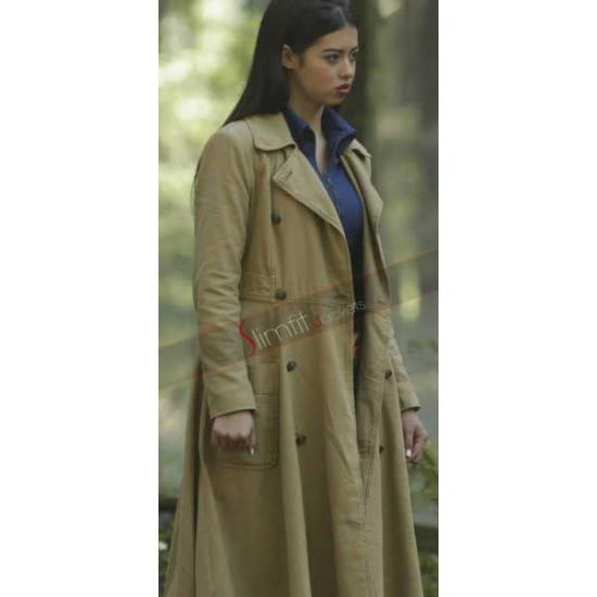 Amber Midthunder Long Coat