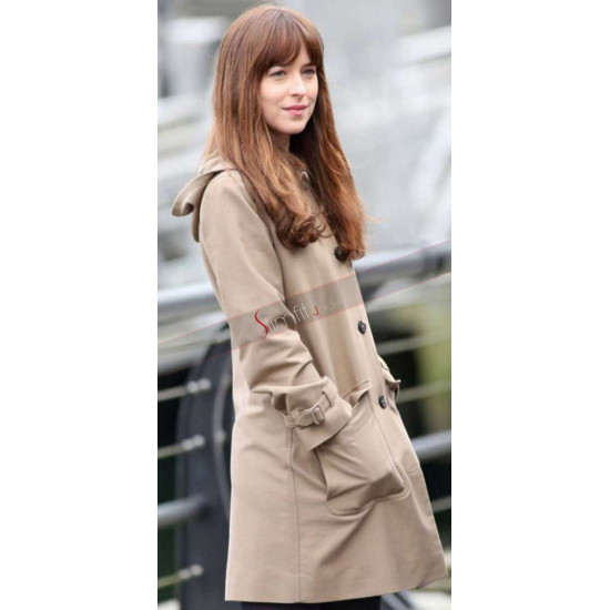 Anastasia Steele Fifty Shades Of Darker Coat