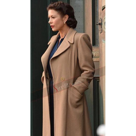 Rose Winters Dad's Army Catherine Zeta-Jones Coat