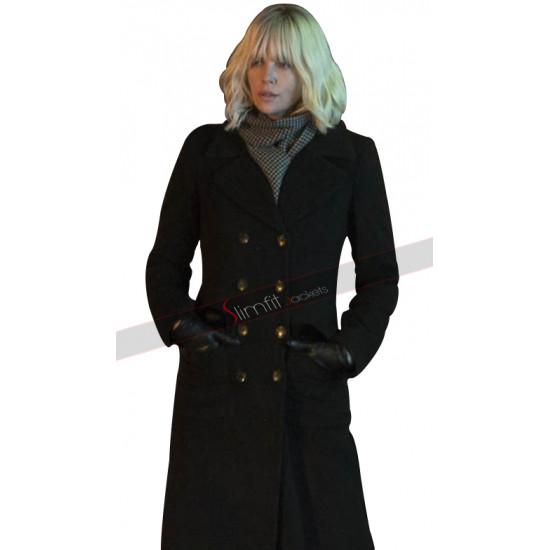 Atomic Blonde Lorraine Broughton Trench Coat