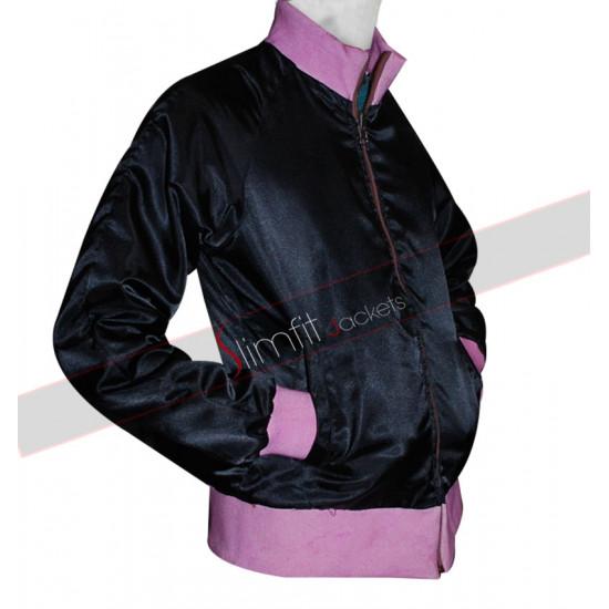 Grease 2 Michelle Pfeiffer Pink Ladies Reversible Satin Jacket