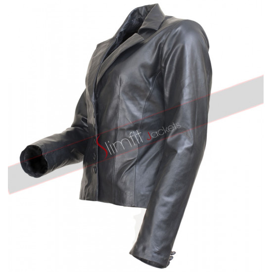 Nicole Kidman Just Go With It Premiere Black Blazer Jacket