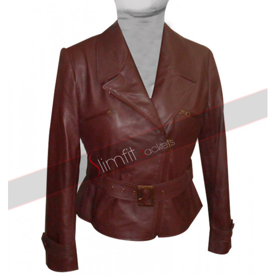 Captain America Agent Peggy Carter Brown Jacket