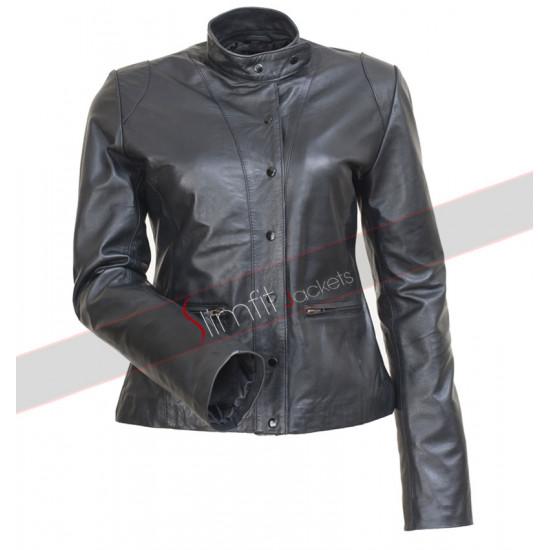 The Mentalist Teresa Lisbon (Robin Tunney) Black Jacket