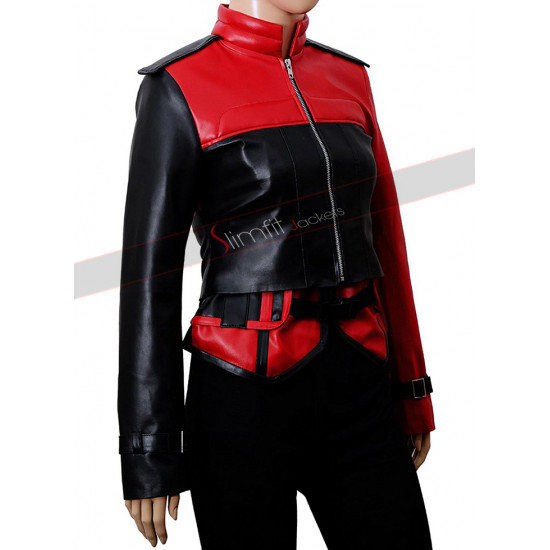 Harley Quinn Injustice 2 Leather Jacket