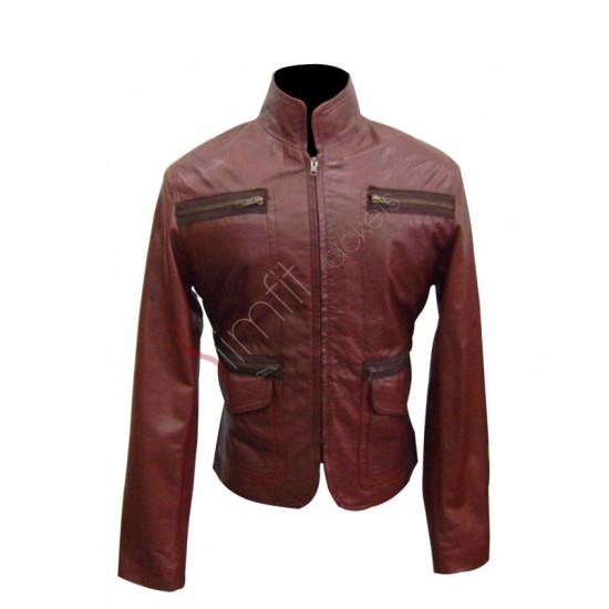 88 Minutes Alicia Witt Movie Leather Jacket