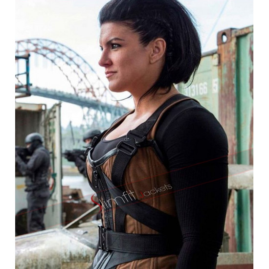 Deadpool Angel Dust (Gina Carano) Brown Vest